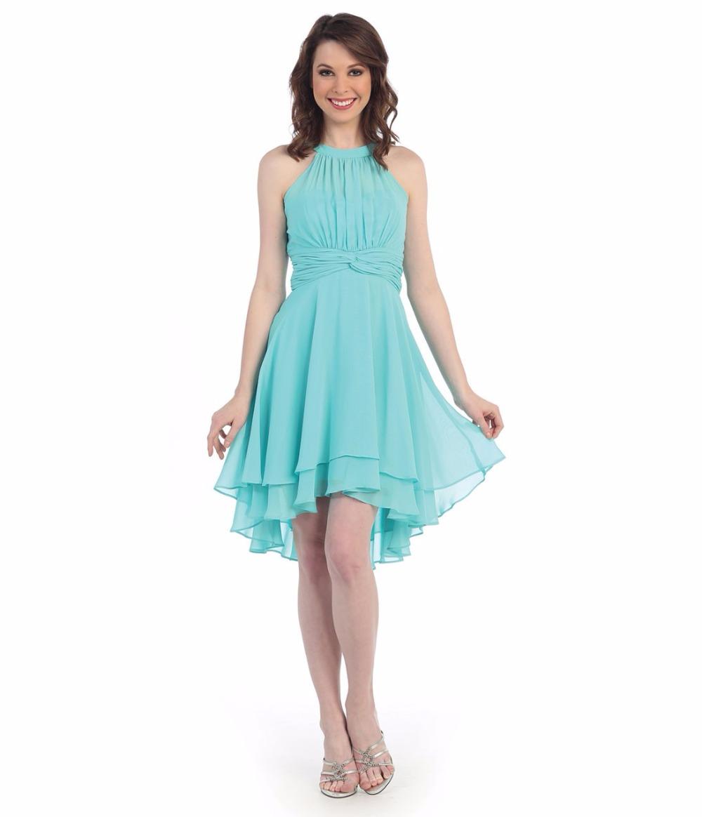 Rustic Blue Bridesmaid Dresses