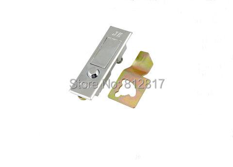 """Rectangular 3.5"""" Long Metal Plane Type Push Button Cabinet Lock(China (Mainland))"""
