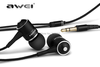 High quality AWEI Q3 3.5mm Jack Noise Isolation In-ear Style Earphone for MP3/MP4 Players + free shipping