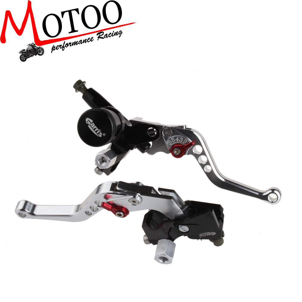 22mm 7/8'' Clutch Brake Levers Master Cylinder Reservoir Set honda grom Msx125 - Motoo motorcycle parts co., LTD store