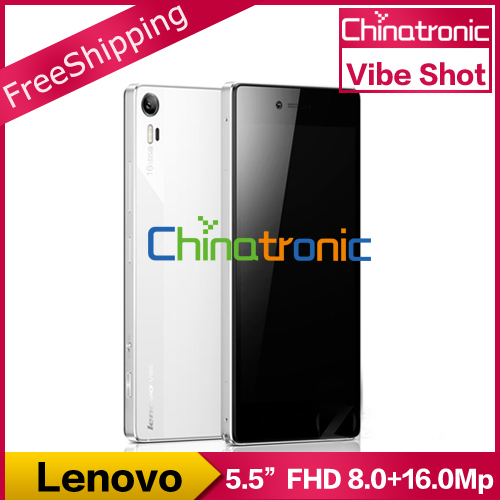 "Original Lenovo Vibe Shot Z90 7 4G LTE Mobile Phone 64Bit Octa-core Android 5.0 Lollipop Dual SIM 5.5""FHD 3G RAM 32G ROM 16MP(China (Mainland))"