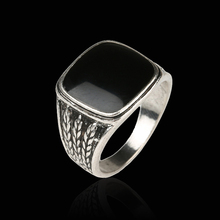Forever The Black Friday To provide The Lowest Price Men Biker Silver Jewelry Fashion Wedding Rings