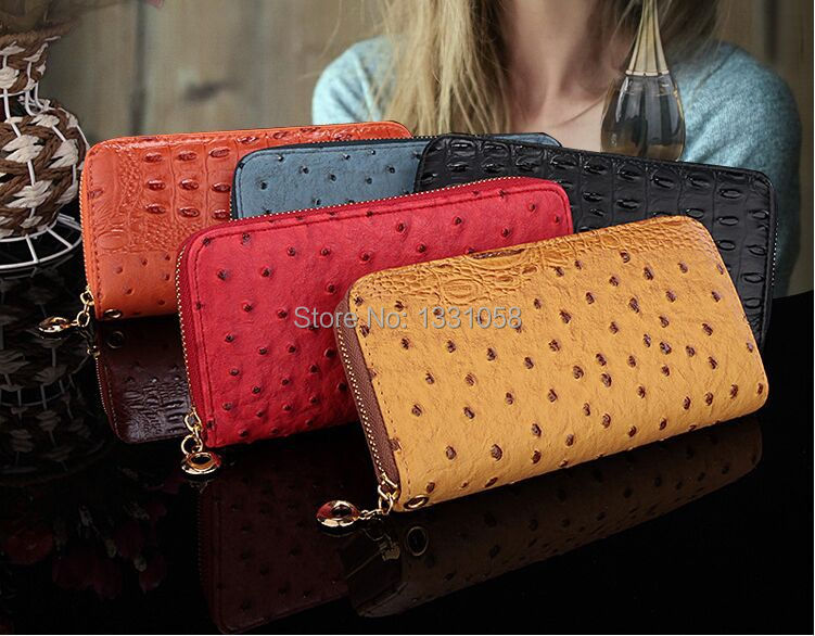 2015 new Ladies zipper women wallet PU leather wallets high quality femal clutch purse promotion fashion day clutch bag.(China (Mainland))