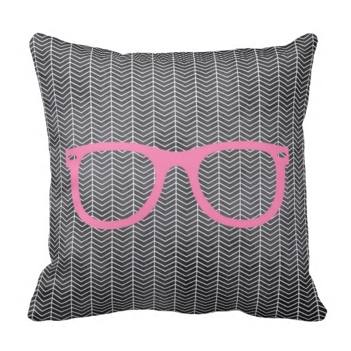 Past Blackboard Tribal Hipster Pillow Case (Size: 20