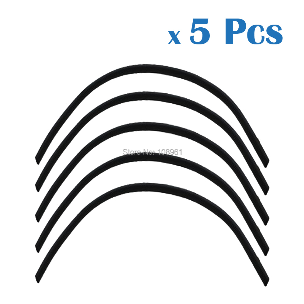 5 Pcs Rubber Bumper Guard Black Pad for iRobot Roomba 400 500 600 700 Series 550 620 Vacuum Cleaner Accessories Parts(China (Mainland))