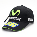 2016 New Design F1 Racing Cap Car Motocycle RacingBaseball Cap MOTO GP VR 46 Rossi Embroidery