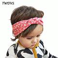 TWDVS Kids Printing Knot Hair Band Newborn Elastic Cotton Headband Ring Hair Accessories Kids Headwear W146