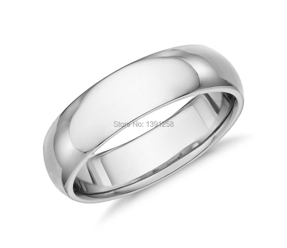 Jh fine jewelry custom made 6mmcomfort fit wedding ring in for Custom made wedding bands to fit engagement ring