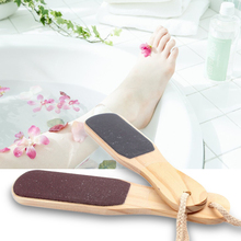 2016 New Double-sided Foot File Care Dead Skin Callus Remover Pedicure Tool Wood ST1#(China (Mainland))