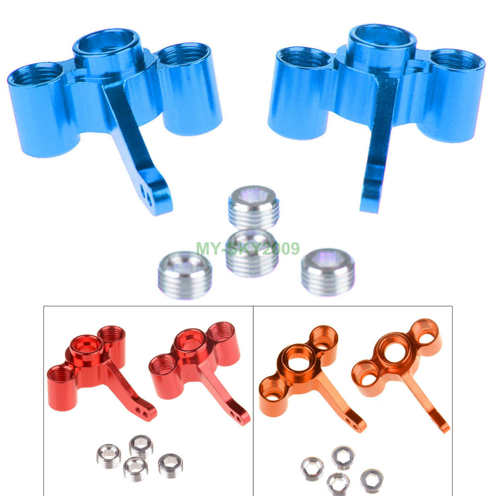 FS Racing 511484 Alloy Steering Hub Carrier(L/R) for 1/10 RC Car Off Road Buggy(China (Mainland))