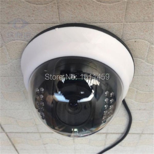 New 1000TVL 1/4 CMOS Color IR CUT 3.6mm Lens Dome CCTV Home Security Camera Video Surveillance Cam for house personal protection