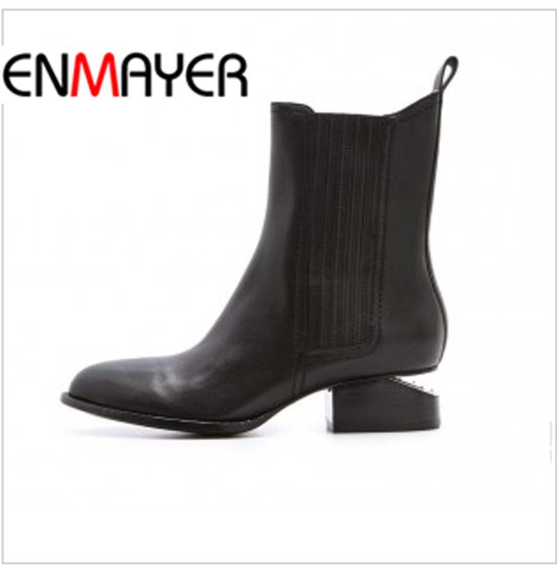 Здесь можно купить  ENAYER  arrivals martin boots for women sexy pointed toe ankle boots fashion punk knight boots  Обувь