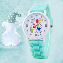 8 Colors Teddy Bear watch Women Quartz Watches  Famous Brand Fashion Silicone Ladies Wristwatch Reloj  Del Oso