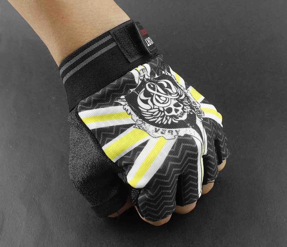 popular skull fingerless glovesbuy cheap skull fingerless