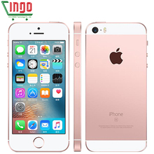 Buy Unlocked Apple iPhone SE Cell Phones LTE 4.0' 2GB RAM 16/64GB ROM Chip A9 iOS 9.3 Dual-core Fingerprint Mobile Phone for $152.74 in AliExpress store