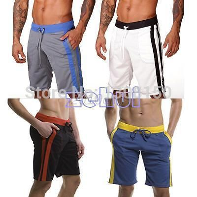 Casual Men's Soft Shorts Loose White,Black,Red WIine,Blue,Gray - All For Fashion-Retail & s store