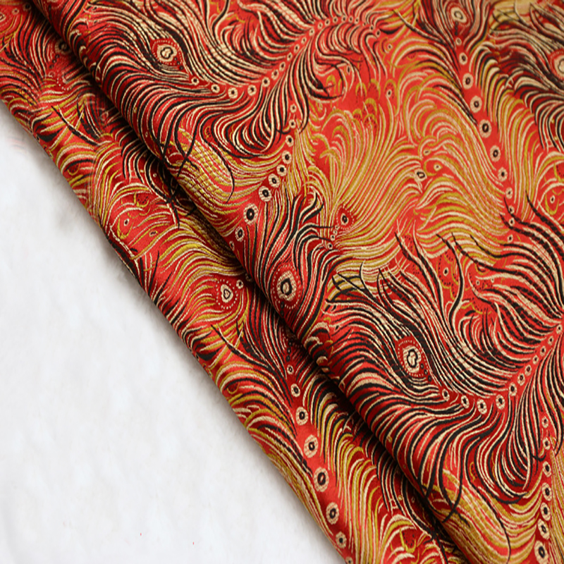 Upholstery Material Amazing The Graceful Peacock Brocade