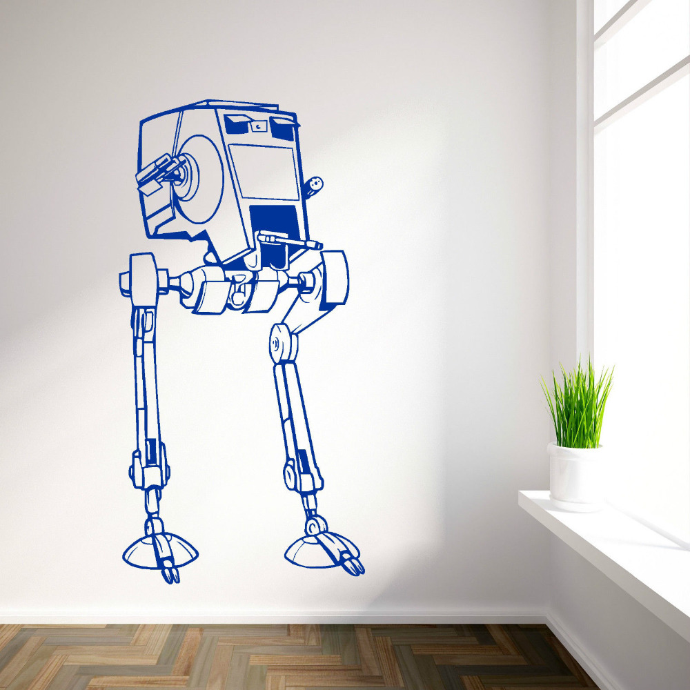STAR WARS AT ST SCOUT WALKER AT ST vinyl wall art decal sticker sci fi movie