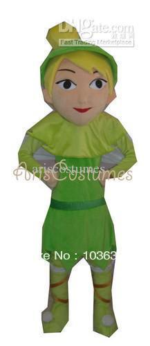 tinkerbell mascot costume fancy dress cartoon characters party outfit - NO.1 store