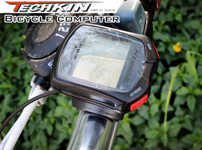 The factory production 20915 mountain bike bicycle odometer speedometer trade English waterproof stopwatch kilometer speed meter(China (Mainland))