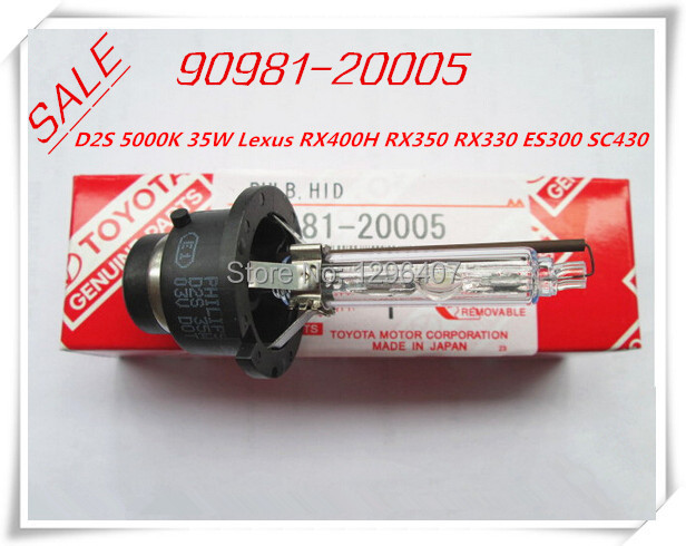 04-09 RX330 RX400h RX350 90981-20005 9098120005 4455A214 Lexus HID Headlight Bulb ,Xenon Hid Bulb d2s 4300k 35w(China (Mainland))