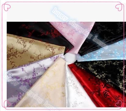 width 90cm 2 metres Brocade cloth DIY costume Hanfu cheongsam baby sewing clothing fabric cloth / brocade - Plum Blossom(China (Mainland))