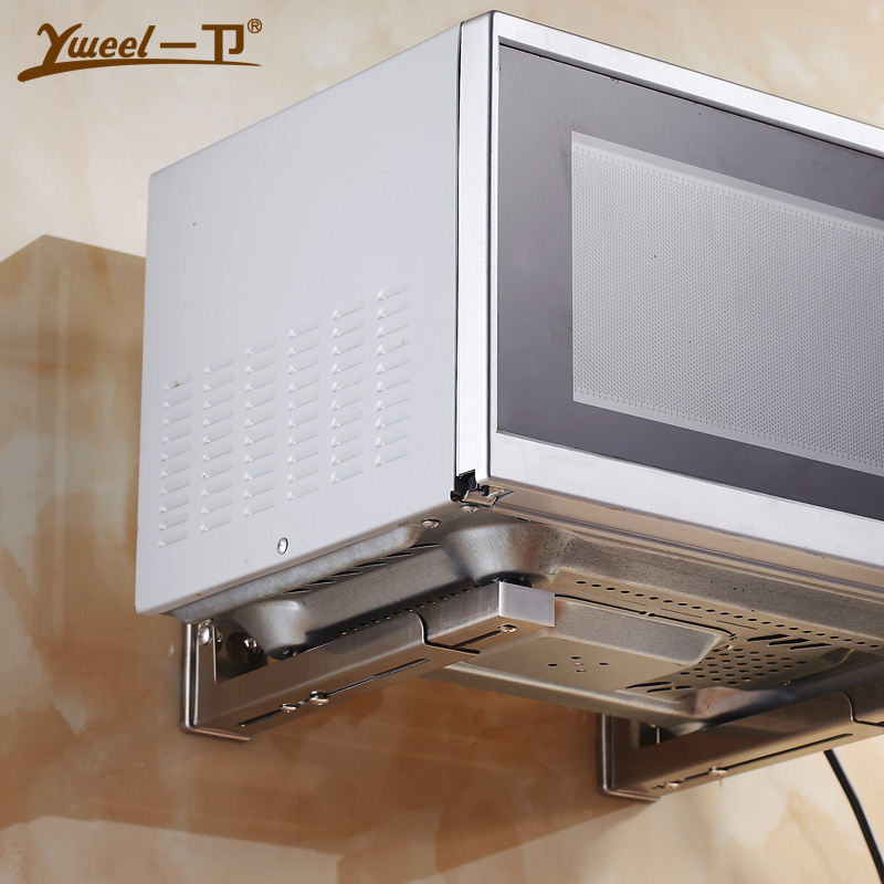 wall mounted microwave oven shelf mount 304 stainless. Black Bedroom Furniture Sets. Home Design Ideas