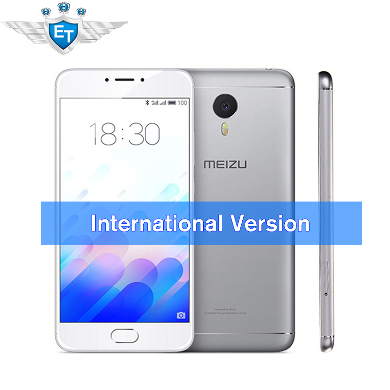 "Instock! Meizu M3 Note [International Edition] 5.5"" Cell Phone Android 5.1 MTK Helio P10 Octa Core Fingerprint 4100mAh(China (Mainland))"