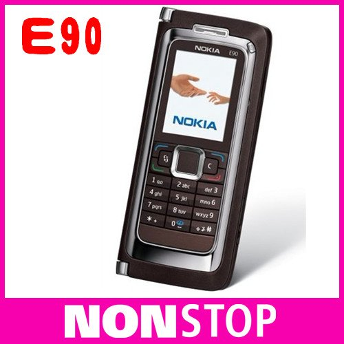 Hot sales E90 Original Nokia E90 WIFI GPS 3.2MP GSM PDA Unlocked Mobile Phone Free Shipping One Year Warranty(China (Mainland))