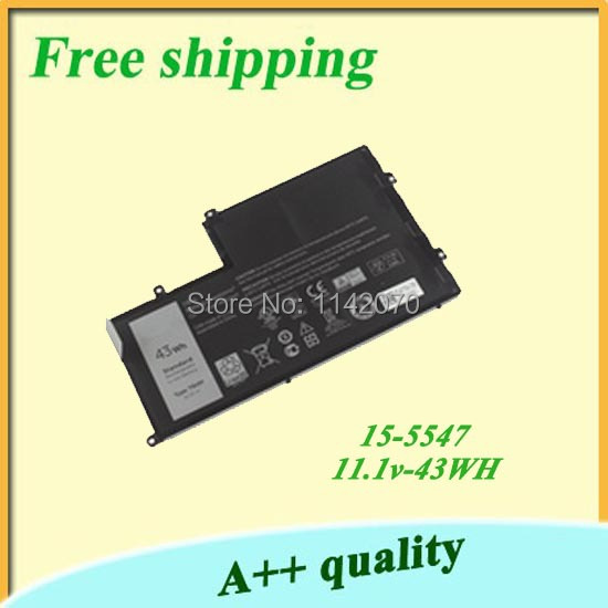 Brand New Original Laptop Battery For DELL 15-5547 11.1V 43WH Free shipping+gift(China (Mainland))
