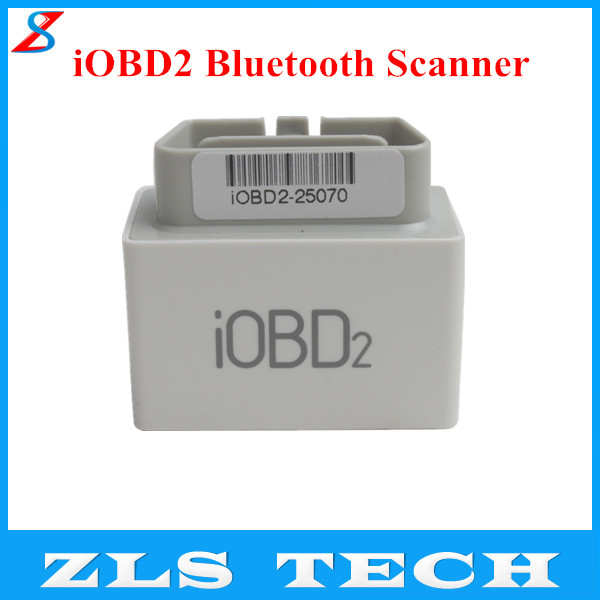 2015 Professional iOBD2 Bluetooth OBD2 EOBD Auto Scanner for iPhone/Android BY Bluetooth with High Quality Fast Shipping(China (Mainland))