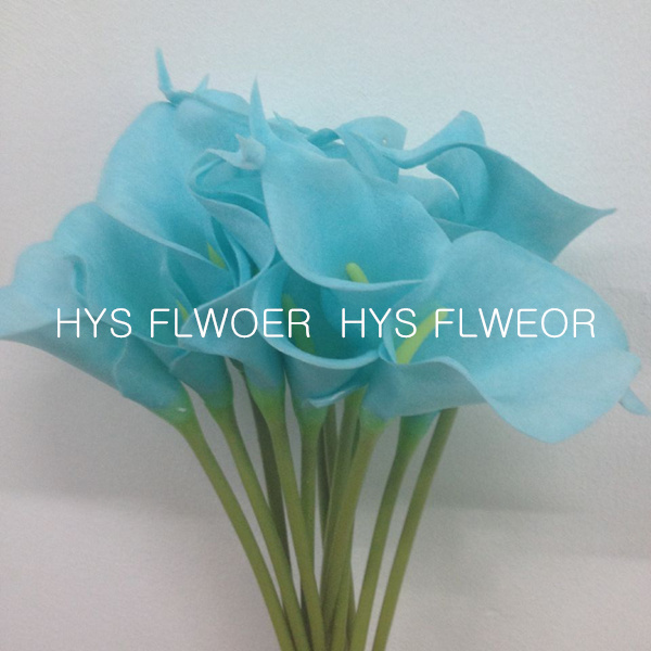 flowers decorative artificial calla lilies for Valentines day decorations(China (Mainland))