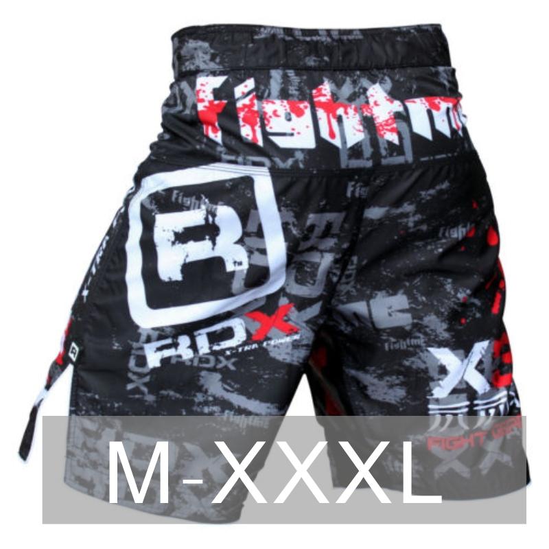 Hommes sport shorts de boxe pantalons sont combat MMA cage catch une courte pièce muay Thai arts martiaux de boxe boxeo prétorienne bad boy(China (Mainland))
