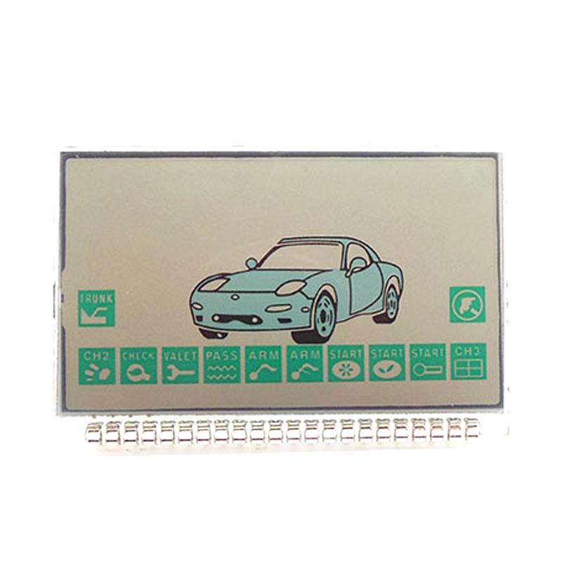 Russian version EZ-Beta lcd display for Jaguar EZ-Beta lcd remote two way car alarm system free shipping(China (Mainland))