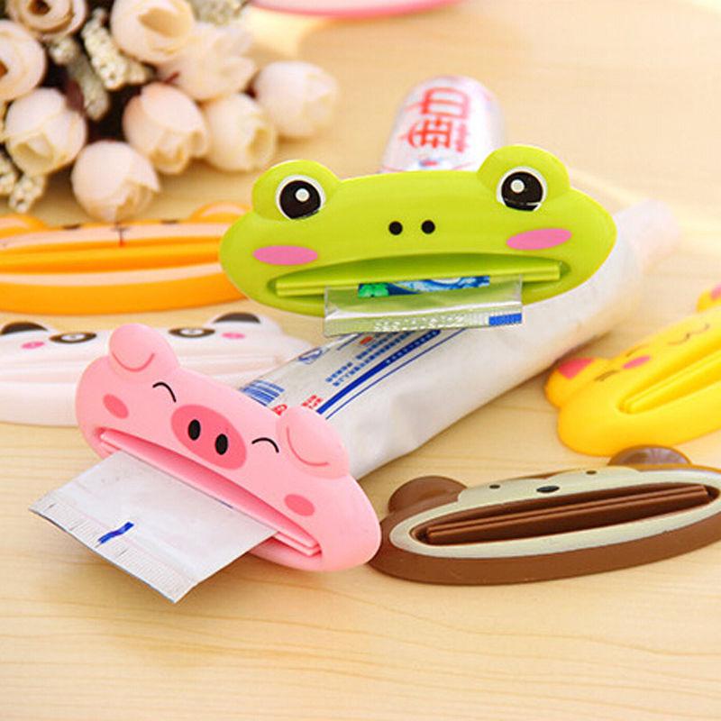 1 Pcs Animal Multifunction Plastic Toothpaste Squeezer Bath Toothbrush Holder(China (Mainland))