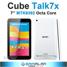 Original 7″ Cube talk 7x Octa Core U51GT C8 Talk7x Tablet pc MTK8392 2.0GHz IPS 1024×600 android 4.4 GPS Bluetooth 3G FM OTG