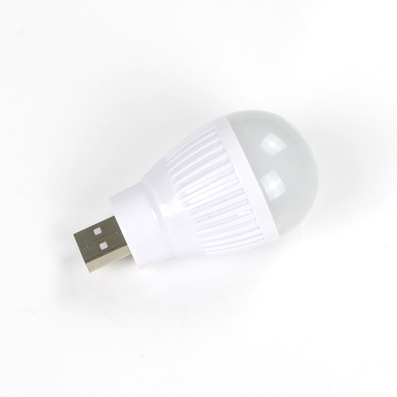 Free Shipping Round LED USB Lamp Light Colorful Small Bright Wholesales Brazil Russia Christmas Gifts(China (Mainland))