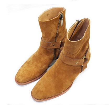 Suede Mens Boots - Boot Hto