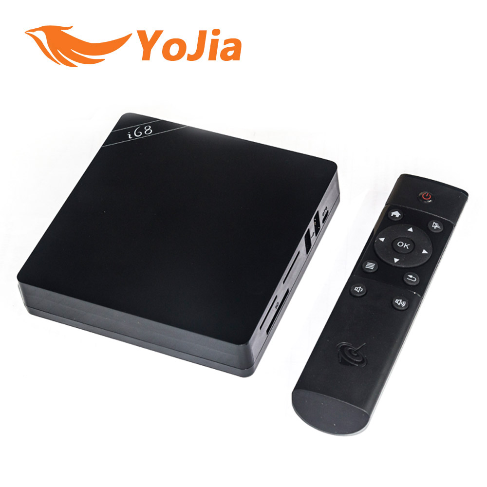 Original i68 Android 5.1 TV Box RK3368 OctaCore 64Bit Cortex A53 2GB/16GB 2.4G/5GHz Dual Wifi HDMI2.0 Gigabit Lan KODI 4K(China (Mainland))