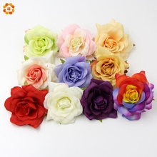 Buy 5PCS DIY High New Artificial Rose Silk Flower Head Home Wedding Party Accessories & Wedding Car Corsage Decoration for $2.02 in AliExpress store