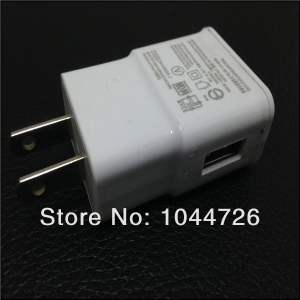 2A US EU Plug Wall Charger Adapter Portable For Samsung Galaxy S4 I9500 S3 I9300 N7100 500pcs/lot