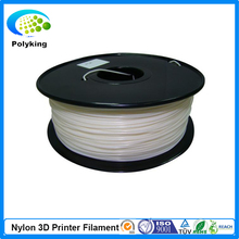 Free Shipping Natural Clear PA Nylon 3D Printer Filament 1.75mm 3.0mm 0.75kg Plastic Welding Rods Apply to Makerbot RepRap