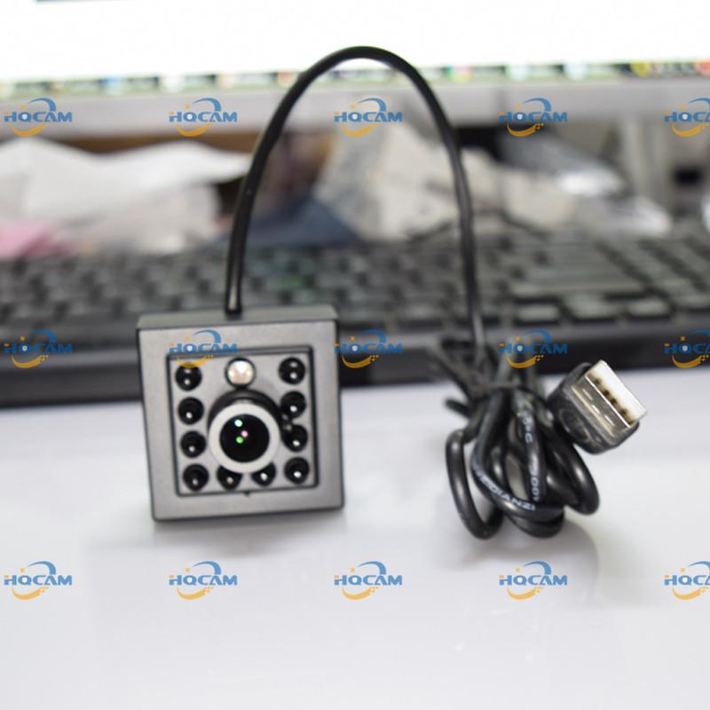 HQCAM 0.3 Megapixels USB Camera 940nm Night vision MINI USB Camera mini camera ATM Bank Camera Support Linux XP System
