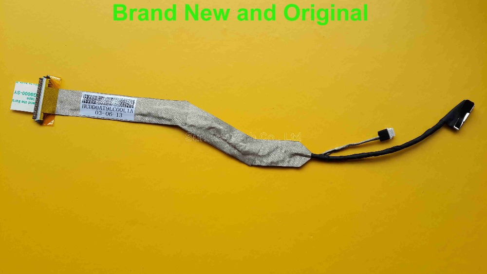Brand New and original LVDS LCD Cable for HP DV9000 DV9500 DV9700 laptop Cable DV9000 LVDS cable DD0AT9LC00L1(China (Mainland))