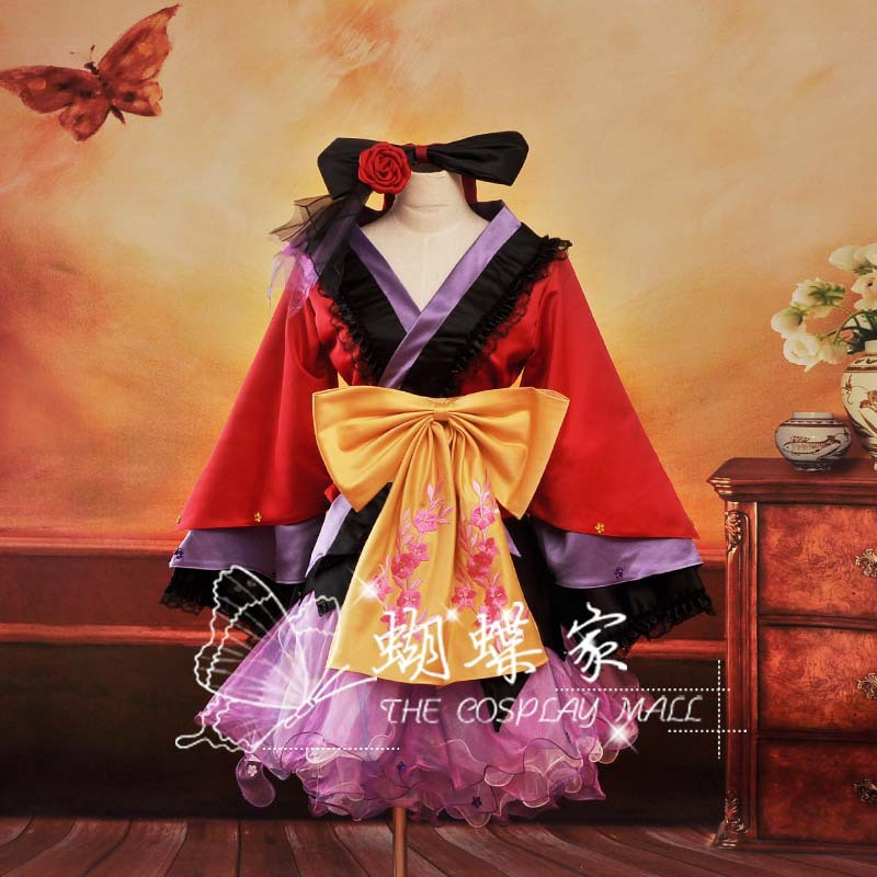 VOCALOID Megurine Luka Project Diva2 Oiran Dress Vocaloid Full Set in Cosplay CostumeОдежда и ак�е��уары<br><br><br>Aliexpress