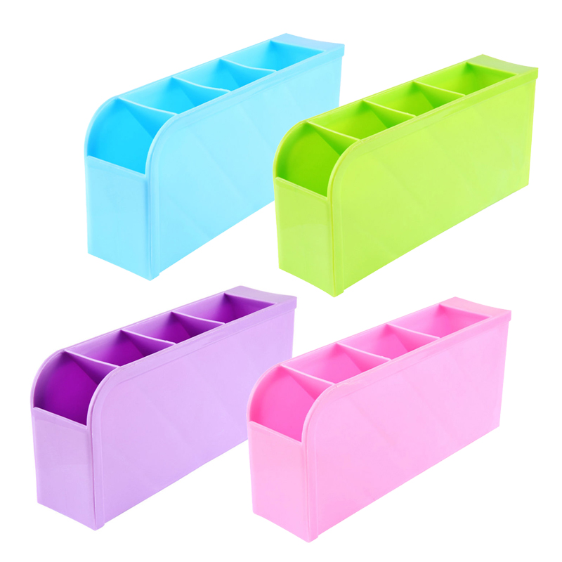 2016 New Arrival Desk Table Drawer Organizer Storage Divider Box Tie Bra Socks Cosmetic Plastic(China (Mainland))