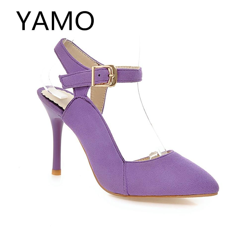 Womens Purple Shoes Heels