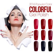 Azure 60 цвета Замочите от Уф-led Гель-Лак длительное Nail Art Маникюр цвет Сияющий Ногтей Гелем польский(China (Mainland))