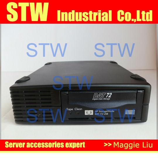 StorageWorks DAT72 USB DW027A 393491-001, External tape drive, 90% new, 1 months warranty