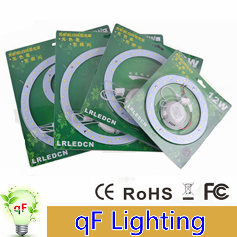 6W 12W 15W 18W 24W 33W LED PANEL Circle Ring Light SMD 5730 LED Round Ceiling board the circular lamp board for Dining room(China (Mainland))